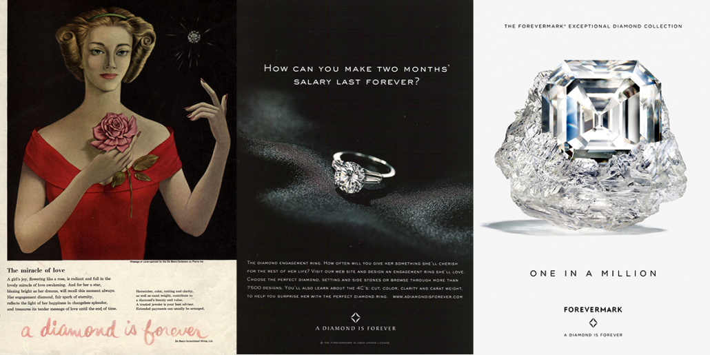De Beers Diamond Ad Campaign