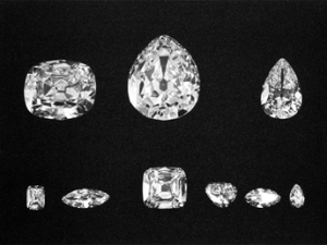 9 Diamonds from the Cullinan Diamond