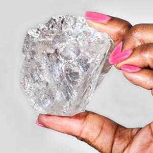 Lesedi La Rona Raw Diamond